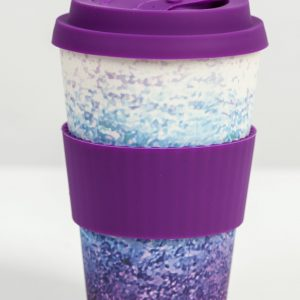 Care Cup Purple Ocean in bamboo