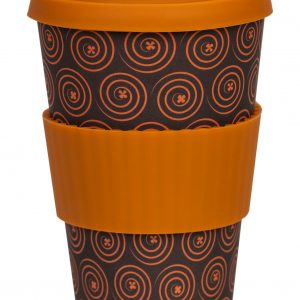 Care Cup TO-Go krus. Orange Fortune. Binedbrydeligt