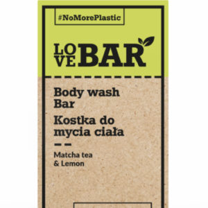 Body wash bar matcha te og lemon